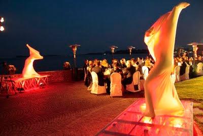 Sanostra-Dancers für Audi Incentive am Gardasee