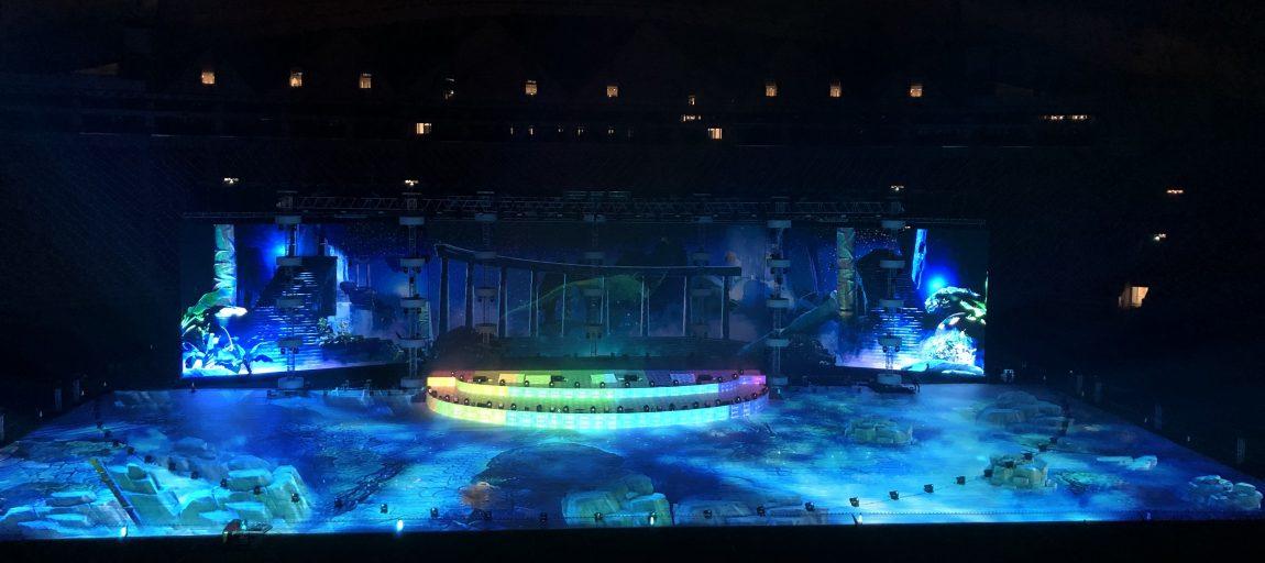 """Eröffnungszeremonie der """"Global Games"""" in Katar"""